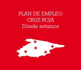 Plan de empleo Cruz Roja - Donde estamos