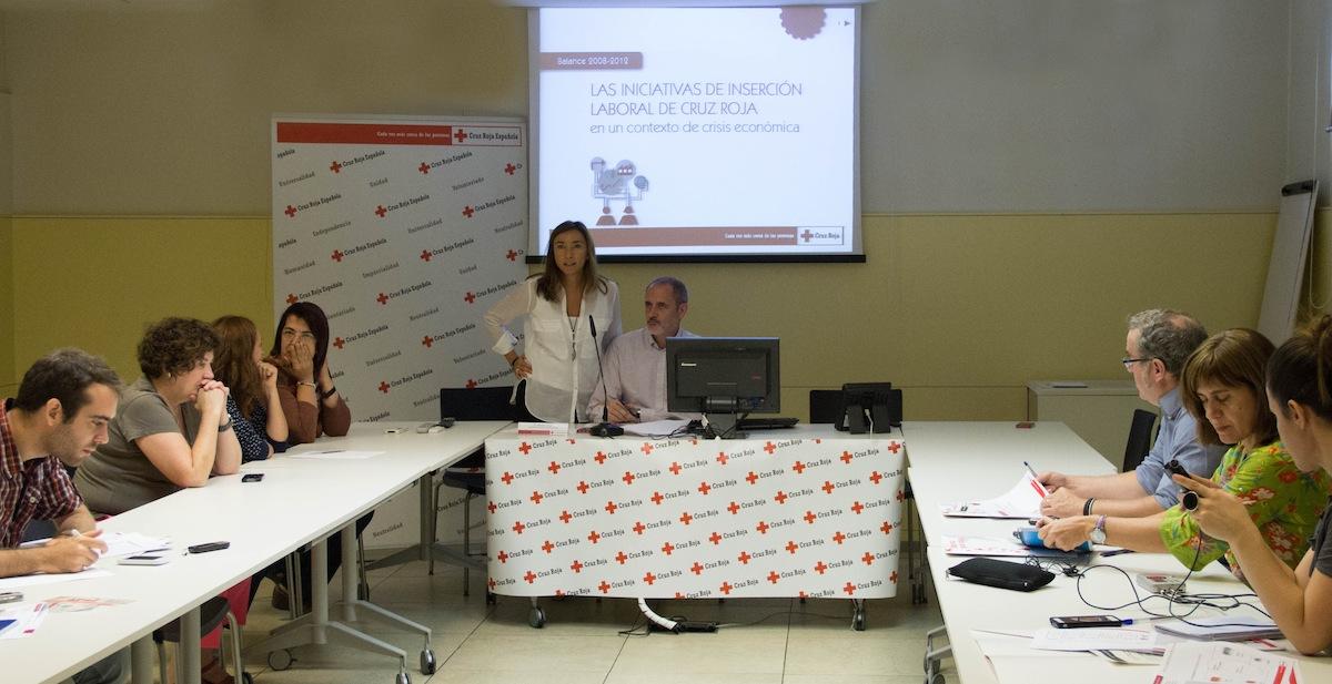 Balance 2008 - 2012 Plan de Empleo de Cruz Roja
